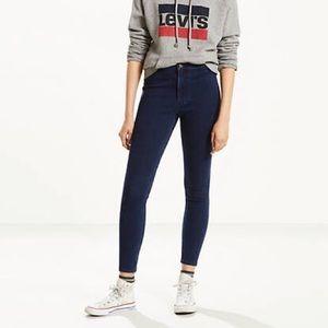 Levi's Runaround Super Skinny Blue Stretch Jeans